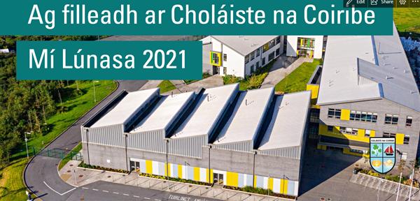 Nuachtlitir Choláiste na Coiribe 2021
